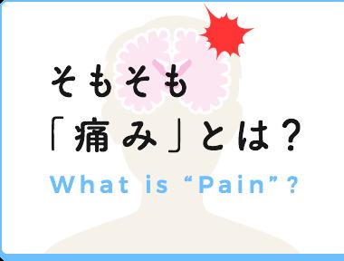 そもそも痛みとは?
